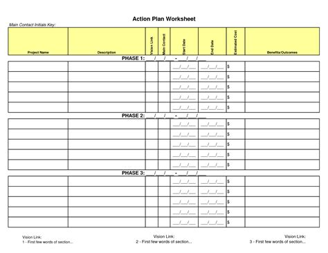 best photos of excel project planning worksheet project