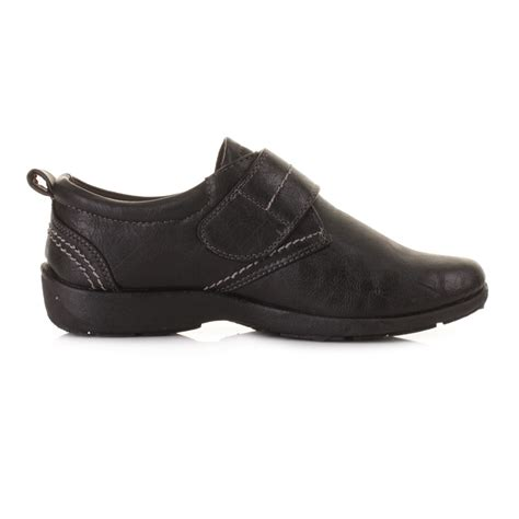 comfortable work shoes women womens flat leather style comfortable comfy black work