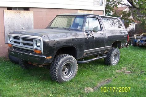 1985 dodge ramcharger specs mfnzerro 1985 dodge ramcharger specs photos modification
