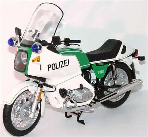 Motorradmodelle 1 10 Bmw by Bmw R80rt Polizei Werbemodell Universal Hobbies