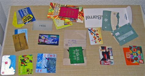 History Of Gift Cards - file gift card assortment jpg wikimedia commons