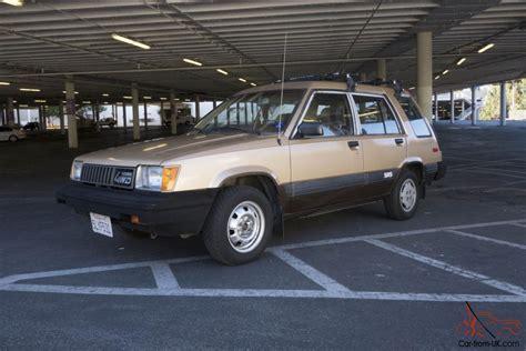 Toyota Tercel For Sale Uk Toyota Tercel Wagon