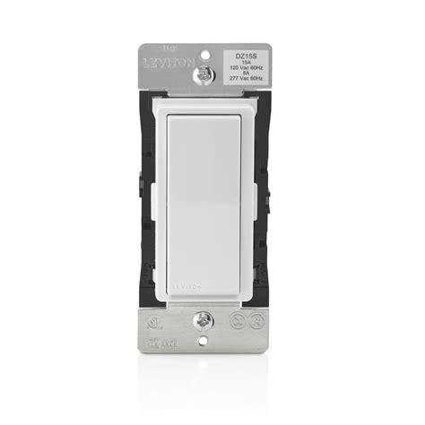leviton wireless light switch leviton decora smart with z wave technology 15 amp switch