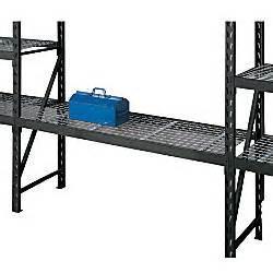 whalen industrial steel shelving shelf 2 12 h x 72 w