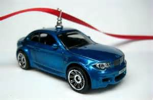 bmw 1m coupe series car christmas tree ornament by