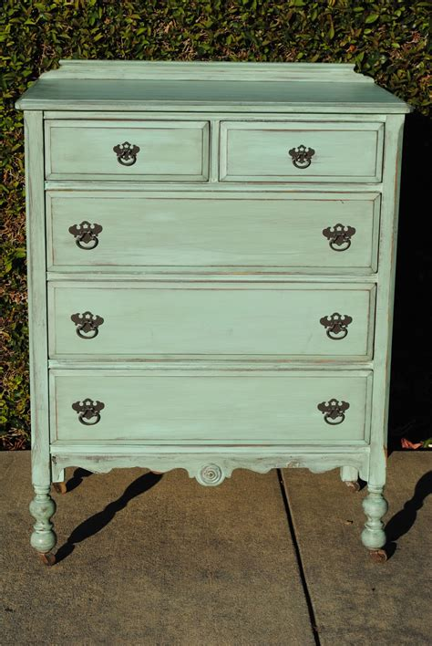 shabby chic dresser just as lovely upcycled furniture mint green shabby