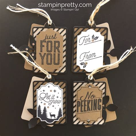 4 merry little labels holiday gift tags stin pretty