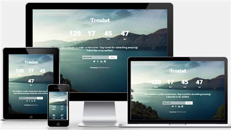 coming soon responsive web template webthemez