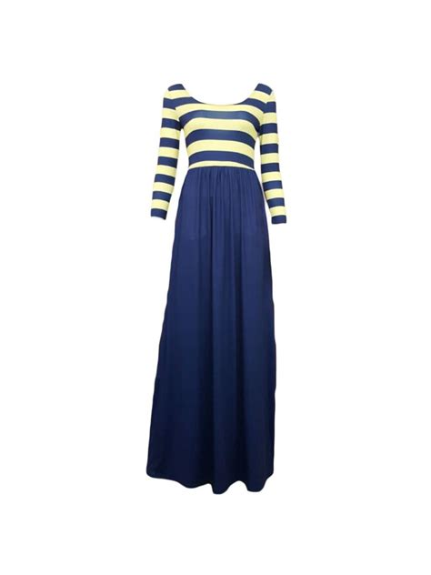 navy patterned jersey dress striped print and navy jersey maxi dress e60586 cilory com
