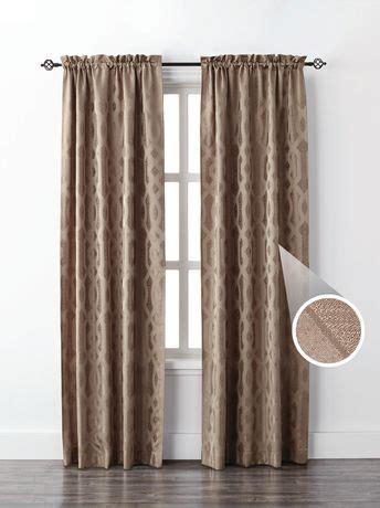 mainstays geo jacquard single window curtain   walmart.ca