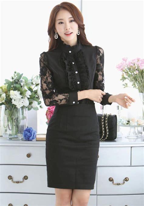 Kaos Atasan Malaysia Trend Terbaru baju hem wanita blackhairstylecuts
