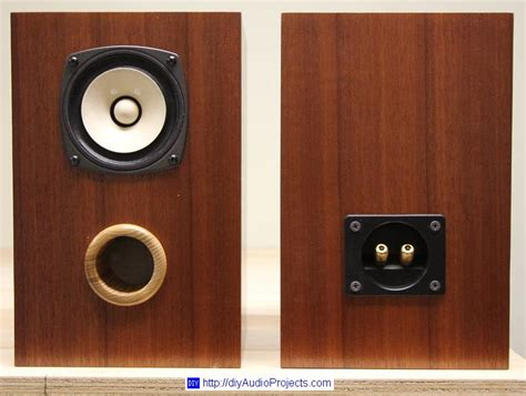 Speaker Fostex fostex fe103en diy bass reflex bookshelf speakers