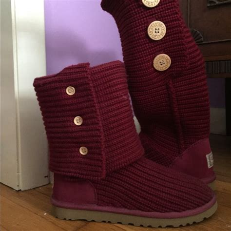 ugg australia classic cardy knit boot ugg australia cardy classic knit boot
