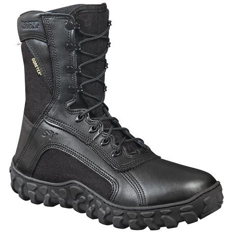 rocky 174 sv2 waterproof duty boots black 578353 combat