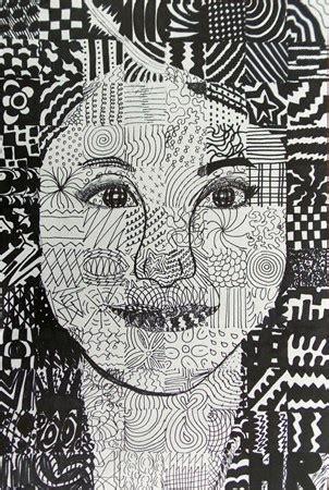pattern portrait artist 25 best year 7 line images on pinterest art lessons art