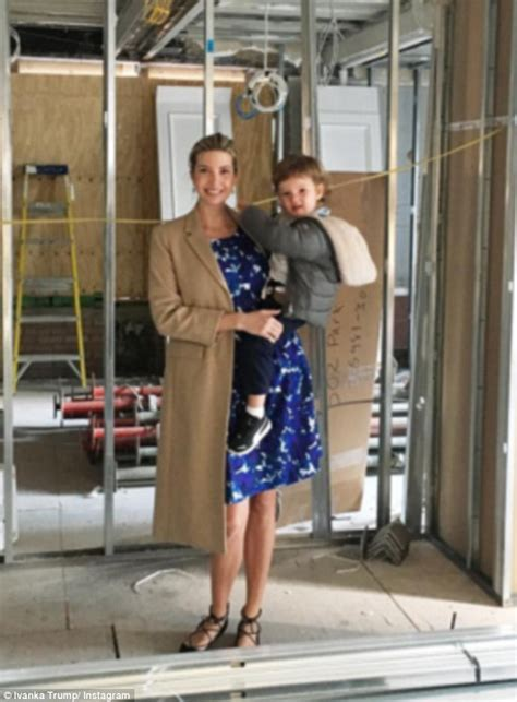 Kitchen Designer Nyc by Ivanka Trump Shows Off Dress From Her Fashion Line As She