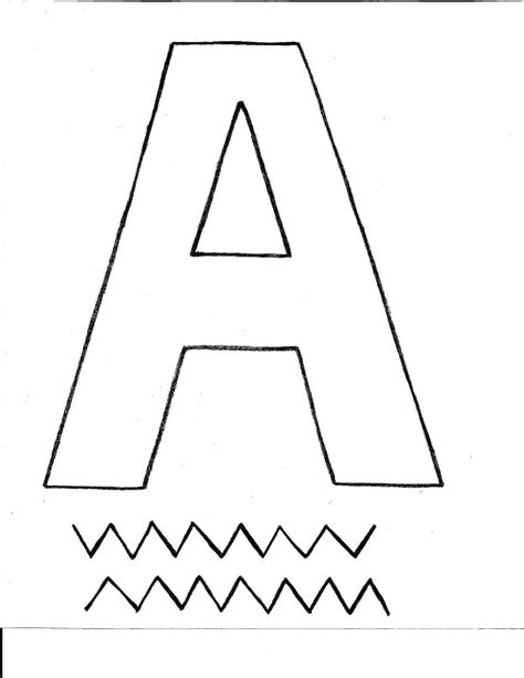 worksheets preschool letter a opossumsoft worksheets and