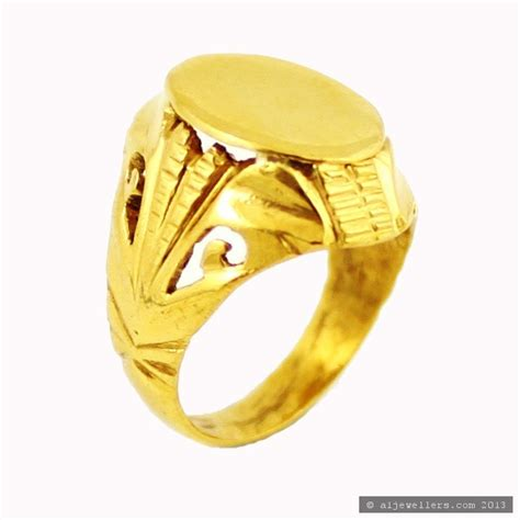 22ct indian gold baby boys ring 163 171 07 rings