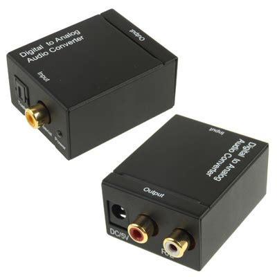 Promo Promo Promo Converter Akay Stereo To Mini Stereo 3 5 M sunsky digital optical coaxial toslink to analog rca