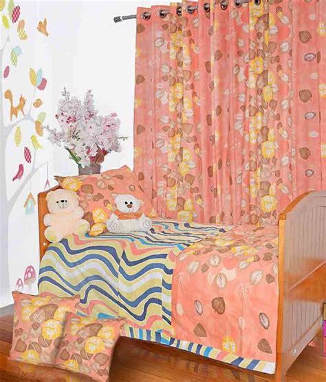 orange floral comforter aurraa orange floral print single bedding set 6 pieces