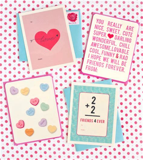 valentines card greetings for teachers craftionary