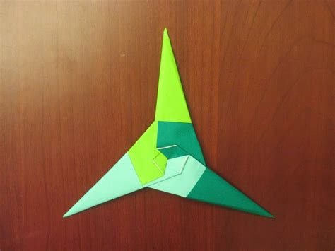 Origami 4 Point - how to make an origami 3 point