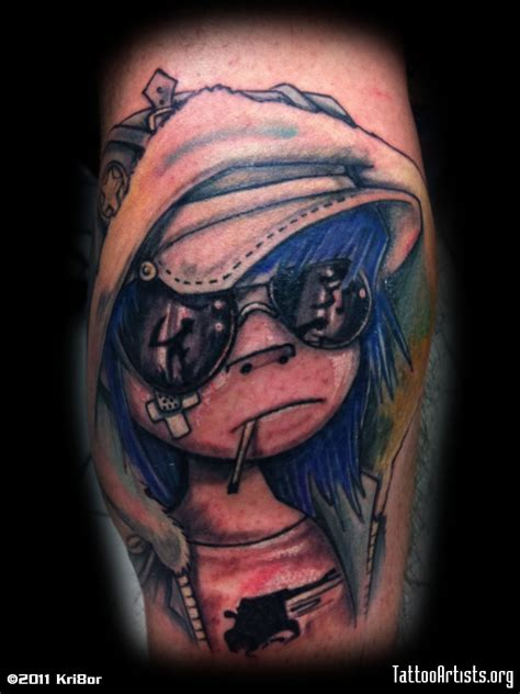 gorillaz tattoo gorillaz artists org