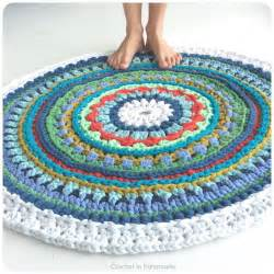 78 best images about trapillo crochet t shirt yarn rugs by