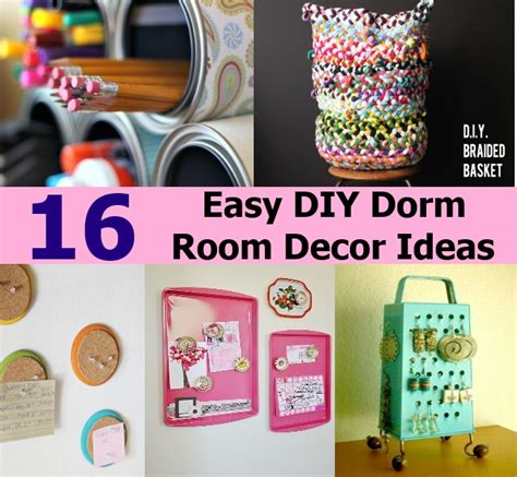 Easy Room Decor 16 Easy Diy Room Decor Ideas Diy Cozy Home World Home Improvement And Garden Tips