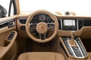 Porsche Macan Interior 2015 Porsche Macan S Macan Turbo Test Motor Trend