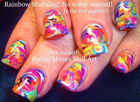 No Water Marble Nail Tutorial