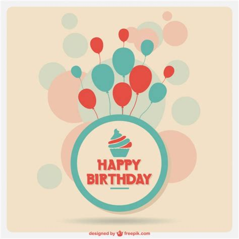 birthday card template freepik anniversary template card vector free