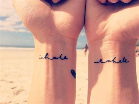 yoga tattoo fonts 17 best ideas about inhale exhale on