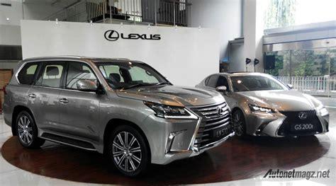 lexus indonesia lexus indonesia resmi hadirkan gs200t dan lx570 terbaru
