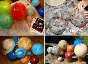 How To Make Paper Mache Planets - blast birthday the celebration shoppe