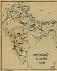 Map Of Ancient India by Ancient Maps India Timeline Ramayana Mahabharata Ramani