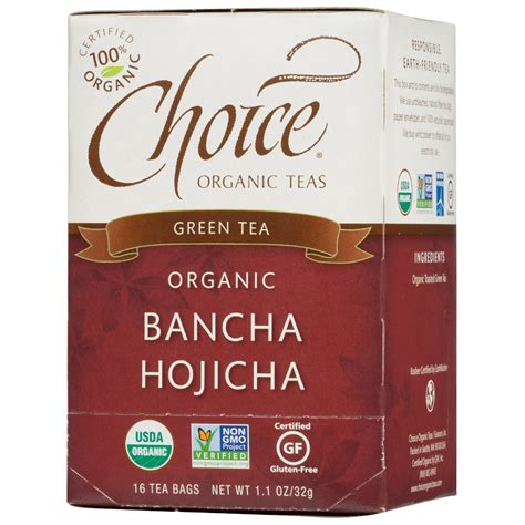 tea bancha choice organic teas organic bancha hojicha green tea