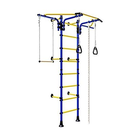trapeze bar for swing set kids indoor sport playground wall mounted gym training