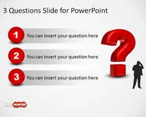 question powerpoint template free 3d question template for powerpoint is a free