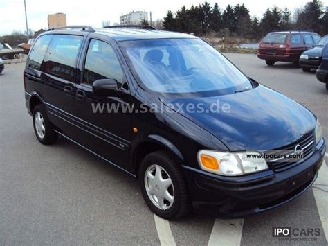 opel sintra 1999 1999 opel sintra 2 2 dti gls car photo and specs