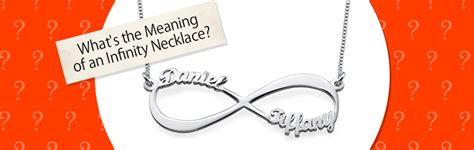 infinity necklace meaning what is the meaning of an infinity necklace mynamenecklace