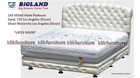 Kasur Bigland Platinum harga las vegas hotel platinum bigland springbed sale 50
