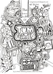 tom gates booksz colouring pages