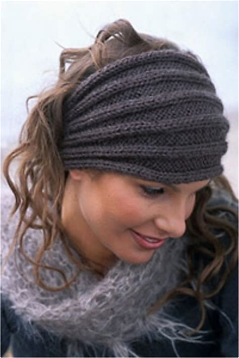 knit cable headband pattern free crochet and knit top 10 warm diy headbands free crochet and knitting