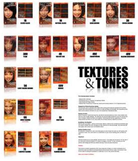 clairol textures and tones color chart clairol textures and tones color chart clairol textures