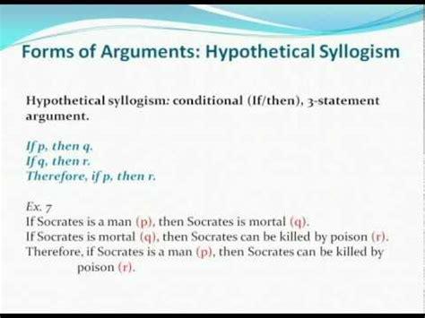03 ethics pt 2 modus ponens modus tollens hypothetical