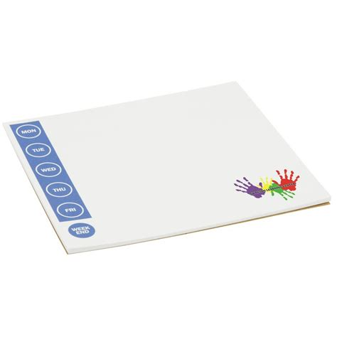 printable paper mousepad 4imprint ca bic note paper mouse pad planner c111468 pl