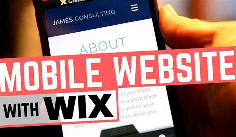 wix mobile wix mobile website editor a review
