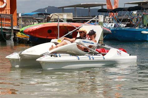 catamaran hire sunshine coast funcats electric catamaran picture of jetty 17 boat