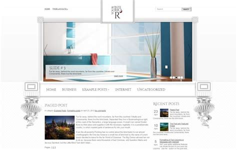 wordpress vertical layout interior design wordpress themes free and premium gt3